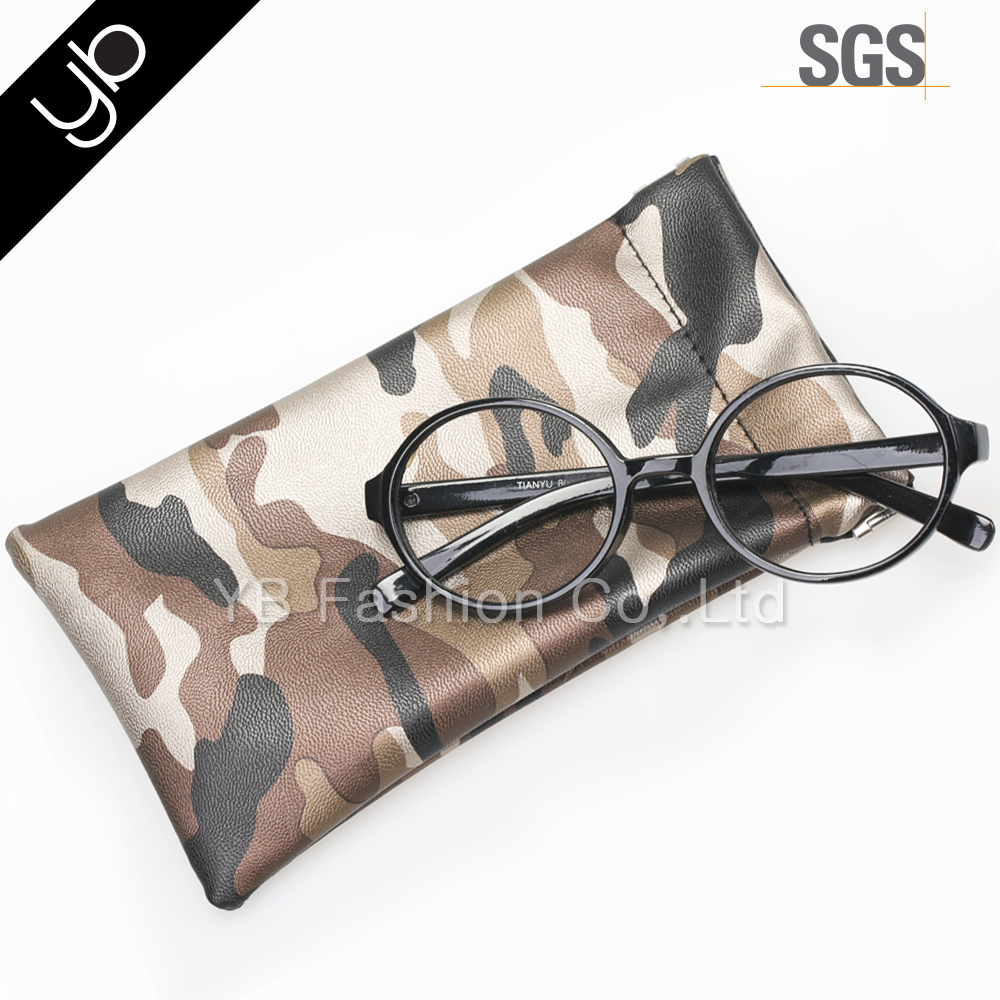 wholesale custom camouflage sunglass case pouch phone case