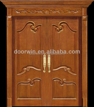 Chinese manufacturer excellent quality modern solid wood for Solid wood door company