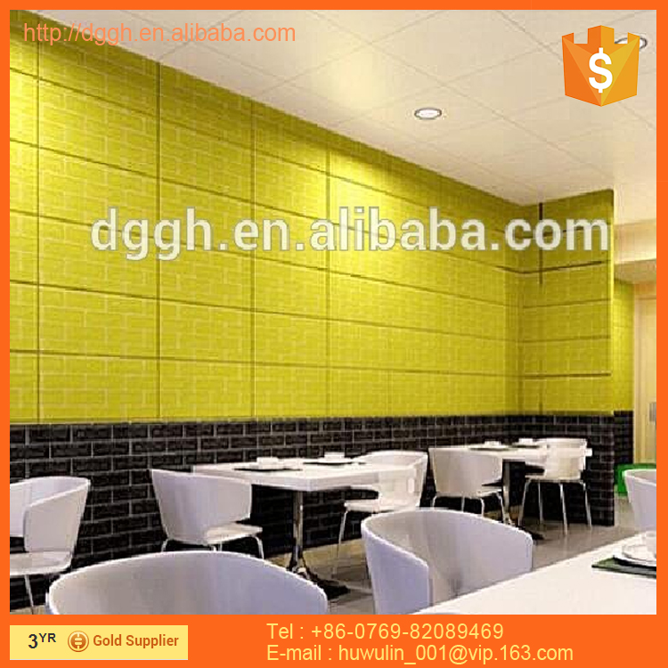 Customized high quality home protective 3d wallpaper self adhesive 3d kitchen wallpaper