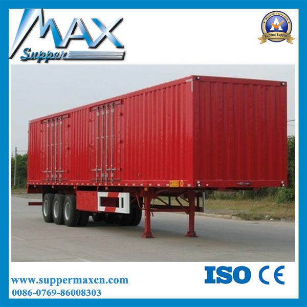 3 Axles Heavy Duty Load Carriage Transport Semi Trailer