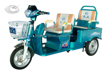 two seats recreational electric tricycle for passenger in China