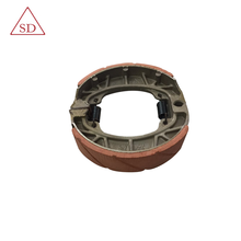 Factory OEM high quality motorcycle less noise brake shoe CG125