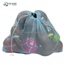 Alibaba Online Shopping China Factory Adjustable Rope Mesh Equipment Bag