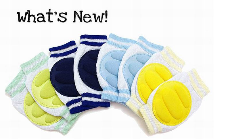 Baby Safety cotton Knee Pad Kids Socks Children Short Kneepad Crawling Protector