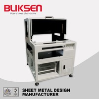 Stainless steel metal control enclosure for electronics