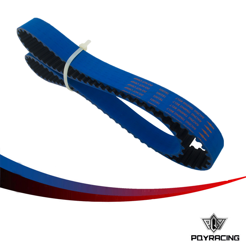 PQY RACING-Racing Timing Belt FOR B16A 99-00 Civic Si 94-97 Del Sol VTEC DOHC BLUE HNBR PQY-TB1001B