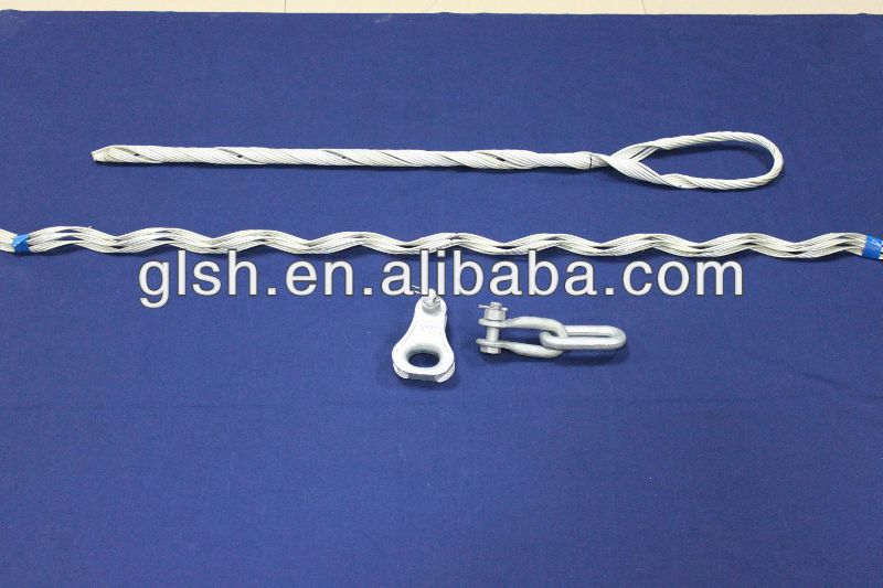 ADSS Cable Preformed Pulling Clamp