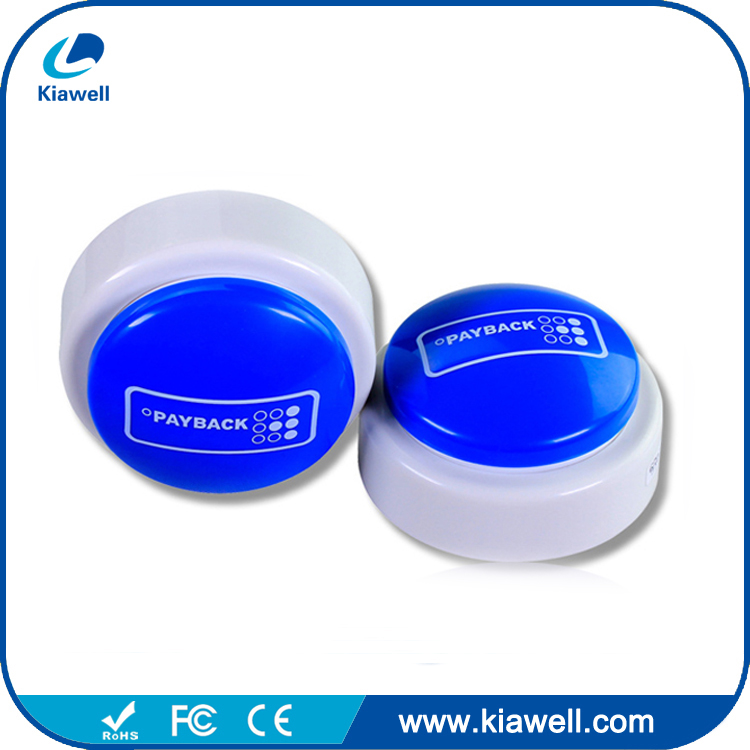 ABS casing short message talking push button sound box