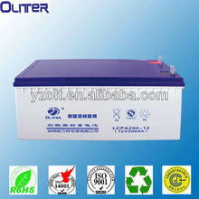 12v 200ah sealed rechargeable lead acid battery