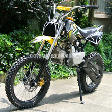 Electric Kick Start 110CC Motorcycle 125CC Dirt Bike Pit Bike with Big Wheel