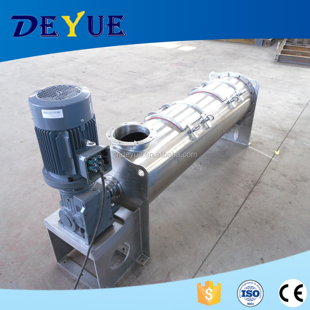 DEYUE competitive price double armed continuous mixing machine