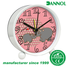 "3"" mother's day gifts metal twin bell desk alarm clock wholesale / relojes"
