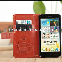 New produce leather case for huawei A199 ,for huawei A199 cover