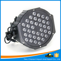 Hot sale Disco party lights 36 led stage flat par light