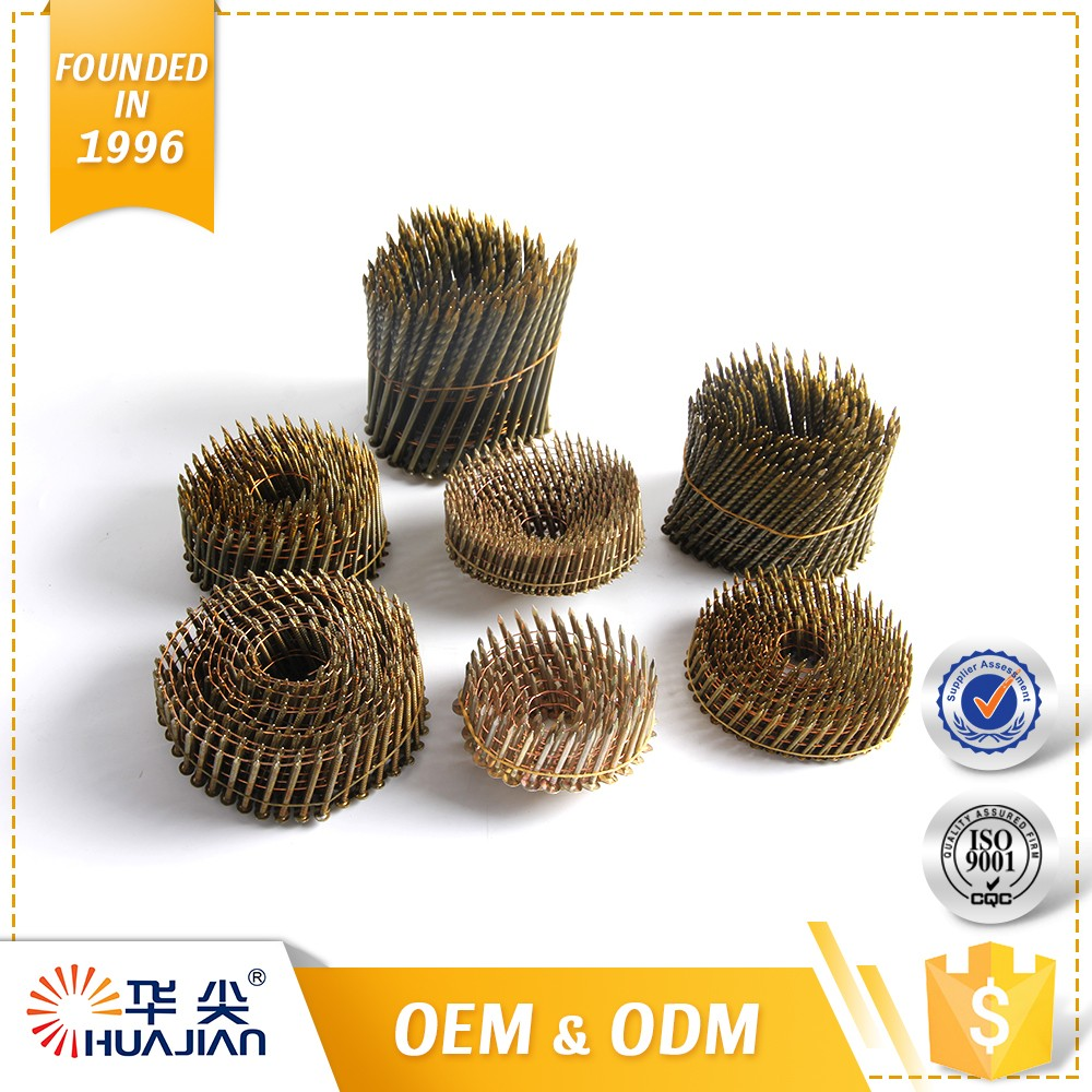 Highest Level Pallet Screw Coil Nails Coiled Nail