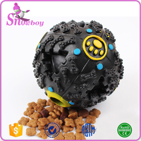 Wholesale Pet Food Dispenser Toy Ball Dog Squeaky Toy Giggle Quack Sound Training Toys