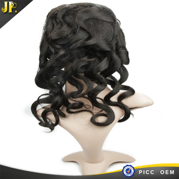 Peruvian Loose Wave Virgin One Donor Hair 100 % Human Hair Wig Lace Front