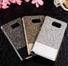 High quality luxury glitter crystal rhinestone bling diamond mobile phone case for iphone diamond mobile phone case for S6