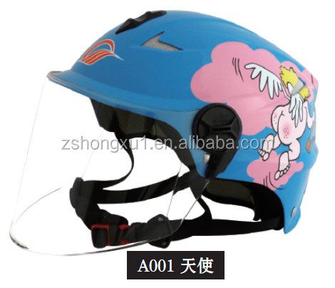 Unique Cheap Half face Motorcycle Helmet A001