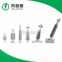 China cheap Manfactory long rod composite porcelain / ceramic insulator for high voltage line