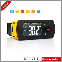 RC-321H Two Sensors Refrigeration Defrost Fan LCD Touch Button Remote Control Microprocessor Temperature Controller