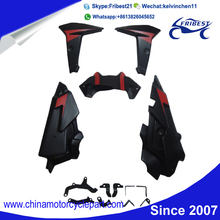 FYAMT055RD Motorcycle ABS Plastic Fairing Kit For FZ09 MT09 2014 2015 Red