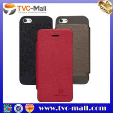 Pretty Phone Cases,Nillkin England Retro Style Flip Split Genuine Leather Case for iPhone 5 + Free LCD Flim