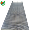 1050 1060 1070 Aluminum Checkered Sheet With Embossing Five Bars For Tread Plate