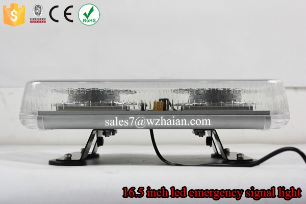 Ambulance Red LED Mini Lightbar/New Type Car Magnetic Strobe Warning Light TBG-850-2