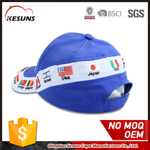 Custom Color Blank National Flag Baseball Sports Cap And Hat Brands Logo