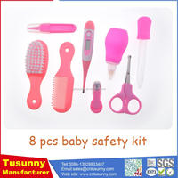Baby Nail Care Practical Clipper Trimmer Convenient Daily Baby Hair Brush Care Kits
