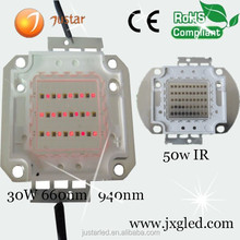 1w 670nm 680nm 690nm 700nm red led model with CE certificate