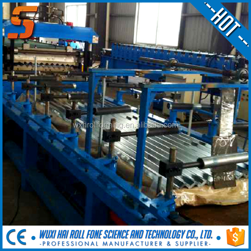 beautiful design roll auction mobile gutter forming machine