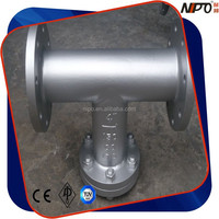 Stainless Steel CF8/CF8M/CF3/CF3M/SS304/SS316 Flanged T Type Strainer Made In China