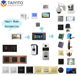 zigbee wirless integrated hotel room light control system controlled by APP on the phone/pad for home alarm system