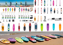 LanYu DWF Material Inflatable touring SUP Paddle surf Boards for sale