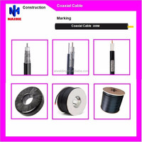 china manufacturer high quality rg6 coaxial cable low price with F connector