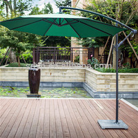 outdoor parasol multicolor green patio umbrella outdoor sun garden umbrella