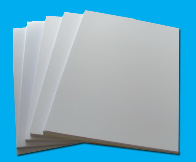 virgin white laser printing pvc sheets