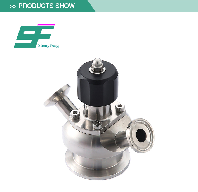 Wholesale new design low price hygienic pneumatic aseptic beer sampling valve