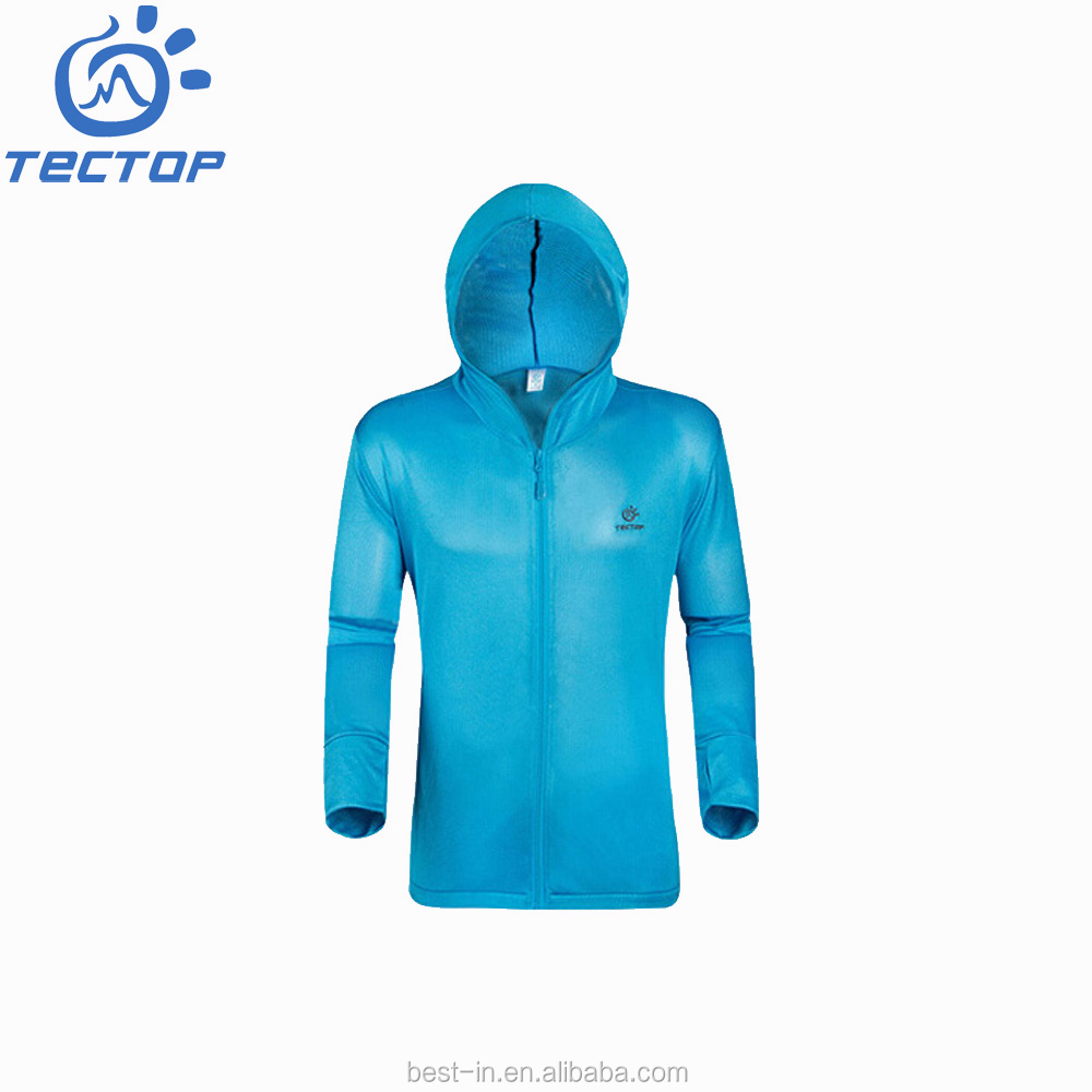 Professional <strong>Manufacturer</strong> Of <strong>100</strong>% Polyester Eyelet Outdoor Hooded Fishing Clothes