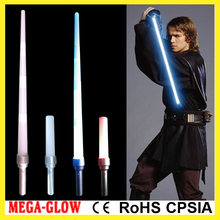 craft factory 85cm LED colorful star war jedi expandable sword
