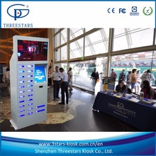 pad kiosk stand coin operated hot selling cell phone charging box station accept coin tablet kiosk