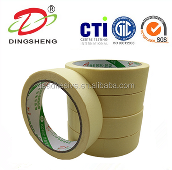 Car Painting Yellow Masking Tape