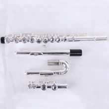 Tone C 16 Keys Flute with Silver Plated
