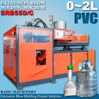 PVC Samll Bottle / Toy / Canister Blow Molding Machine