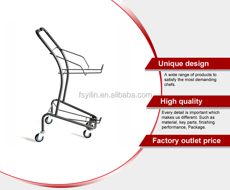 customize Japanese style shopping trolley cart