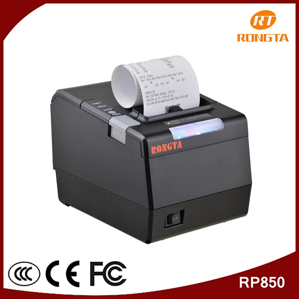 300mm/s thermal high printing speed 80mm wifi pos printer,wireless receipt printing machine with cutter RP850