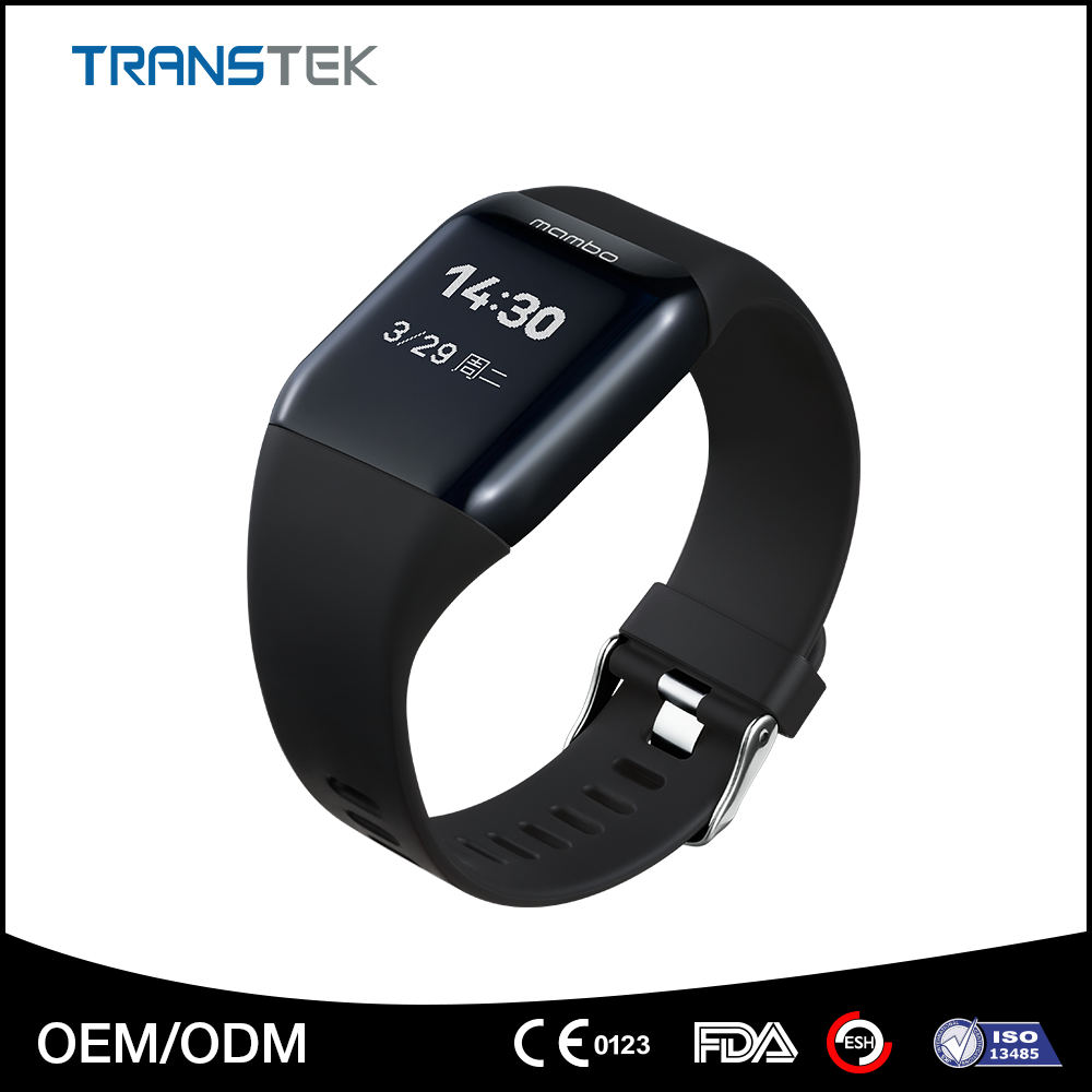 USB charging portable smart bracelet, waterproof activity wrist band