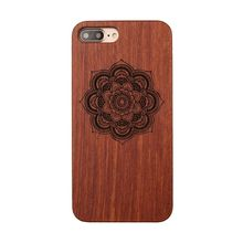 Luxury 100% Natural Handmade Animal Wood Bamboo Phone Case Cover For iphone 7 8